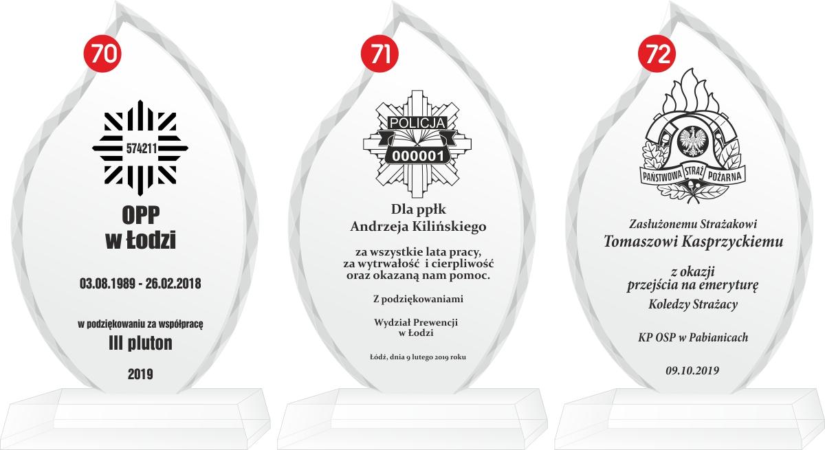 nagroda, podziękowanie, dla policji, policjanta, z okazji przejścia na emeryturę, prezent na emeryturę, łódź, pabianice